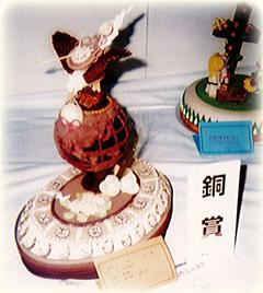 ジャパンケーキショー 銅賞作品「鷲」