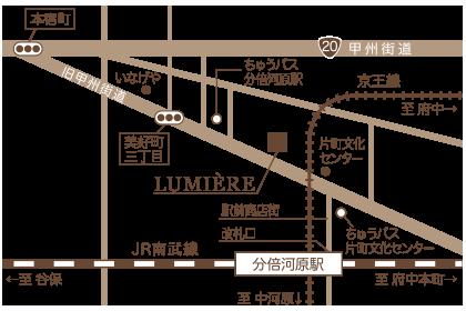 お店周辺マップ